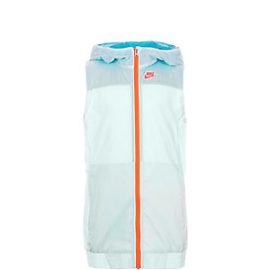 Nike Flight Weight Laufweste Mädchen hellblau / neonrot