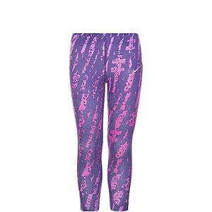 Nike Allover Print Tights Mädchen lila / pink