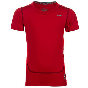 Nike Pro Core Kompressionsshirt Kinder rot