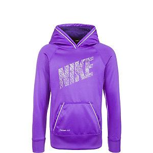 Nike KO Reflective Hoodie Kinder lila / grau