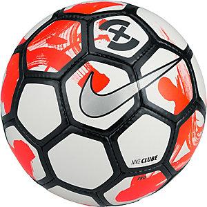 Nike FootballX Clube Futsal Größe 4 Fußball weiß / rot / schwarz