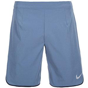 Nike Gladiator Tennisshorts Herren blau / weiß