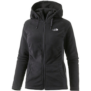 The North Face Mezzaluna Fleecejacke Damen schwarz