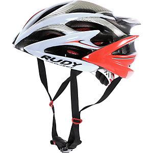 Rudy Project Windmax Fahrradhelm weiß rot
