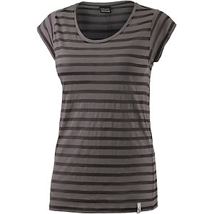 Cleptomanicx Summa T-Shirt Damen schwarz/grau