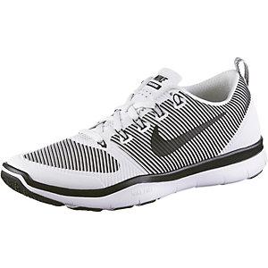 Nike Free Train Versatility Fitnessschuhe Herren weiß/grau
