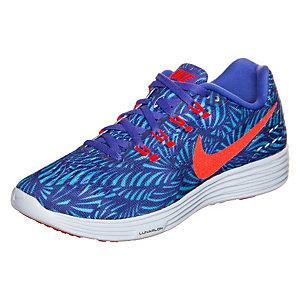 Nike LunarTempo 2 Print Laufschuhe Damen blau / orange