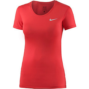 Nike Pro Dry Fit Funktionsshirt Damen rot