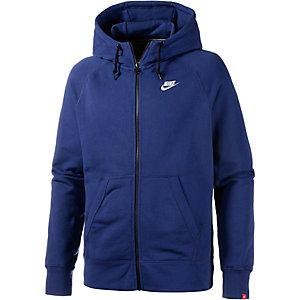 Nike AW77 Sweatjacke Herren blau