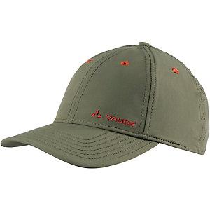 VAUDE Softshell Cap dunkelgrün