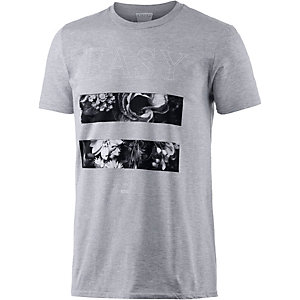 Ezekiel Rory Printshirt Herren hellgrau