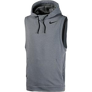 Nike Dri-Fit Kapuzenshirt Herren grau