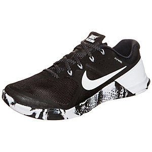 Nike Metcon II Fitnessschuhe Herren schwarz / weiß