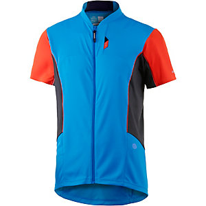 Shimano Fahrradtrikot Herren blau/rot