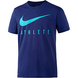 Nike Swoosh Athlete Funktionsshirt Herren blau