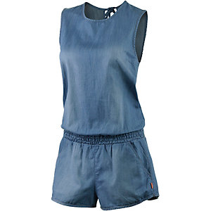 Seafolly Detention Playsuit Jumpsuit Damen jeansblau