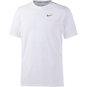 Nike Dri-Fit Contour Laufshirt Herren weiß