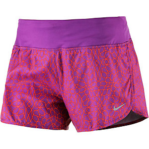 Nike Starglass Laufshorts Damen lila