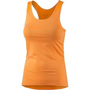 Nike Pro Dry Fit Funktionstank Damen neonorange