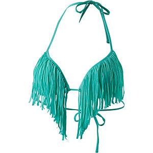GUESS Bikini Oberteil Damen türkisgrün