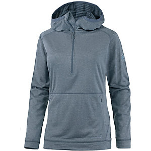 Mammut Wall Light Fleeceshirt Damen grau