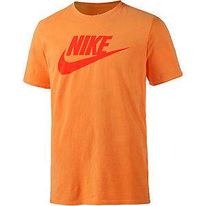 Nike Solstice Futura Printshirt Herren orange
