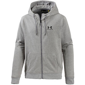 Under Armour ColdGear Triblend Kapuzenjacke Herren grau