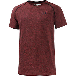 Under Armour HeatGear Tech Funktionsshirt Herren rot/schwarz