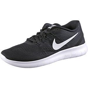 Nike Free Laufschuhe Jungen schwarz