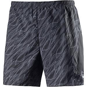 Nike Pursuit Laufshorts Herren schwarz/grau