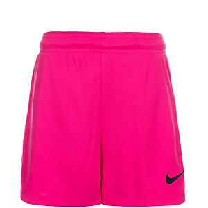 Nike Park II Fußballshorts Kinder pink / schwarz