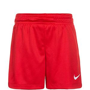 Nike Park II Fußballshorts Kinder rot / weiß