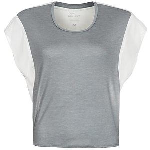 Nike Elevated Sweet Funktionsshirt Damen grau / weiß