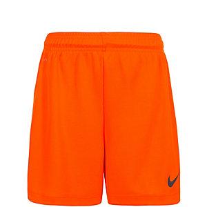 Nike Park II Fußballshorts Kinder orange / schwarz