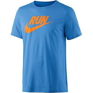 Nike Run T-Shirt Herren hellblau