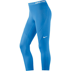 Nike Pro Hypercool Tights Damen blau