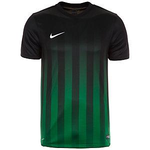 Nike Striped Division II Fußballshorts Herren schwarz / grün
