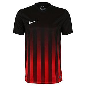 Nike Striped Division II Fußballshorts Herren schwarz / rot / weiß