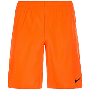 Nike Laser III Fußballshorts Herren orange / schwarz