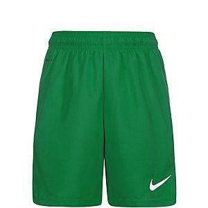Nike Laser III Fußballshorts Kinder grün / weiß