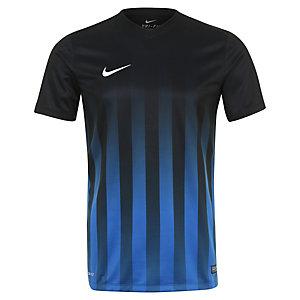 Nike Striped Division II Fußballshorts Herren schwarz / blau / weiß