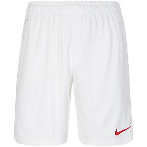 Nike Park II Fußballshorts Herren weiß / rot