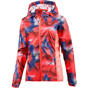PUMA Packable Laufjacke Damen orange/blau