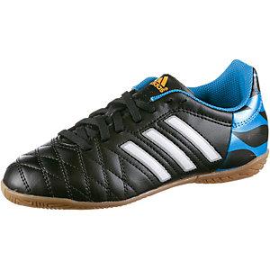 adidas 11questra IN Jr. Fußballschuhe Kinder schwarz/blau