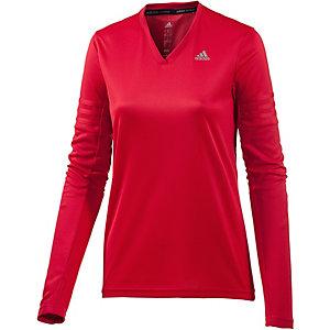 adidas Response Funktionsshirt Damen rot