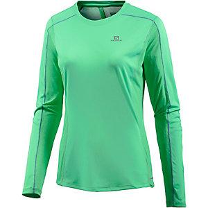 Salomon Agile Laufshirt Damen grün