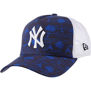 New Era Tonal Palm Trucker NY Yankees Cap blau/grau