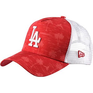 New Era Tonal Palm Trucker LA Dodgers Cap rot/ grau