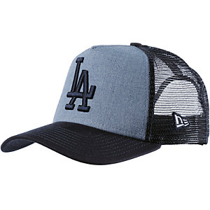 New Era Heather Team Trucker LA Dodgers Cap blau
