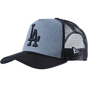 New Era Heather Team Trucker LA Dodgers Cap blau